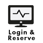 Login and Reserve Icon