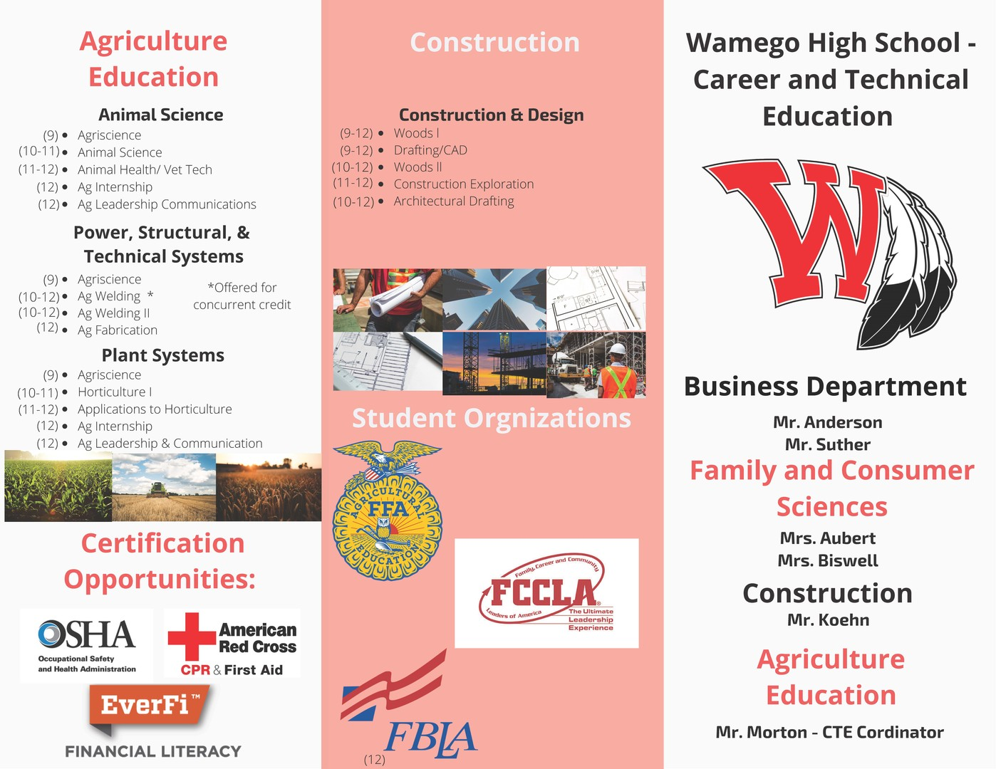 Career and Technical Education Brochure